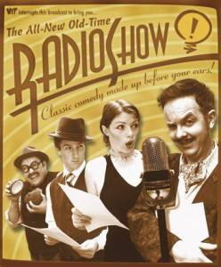 radio show poster